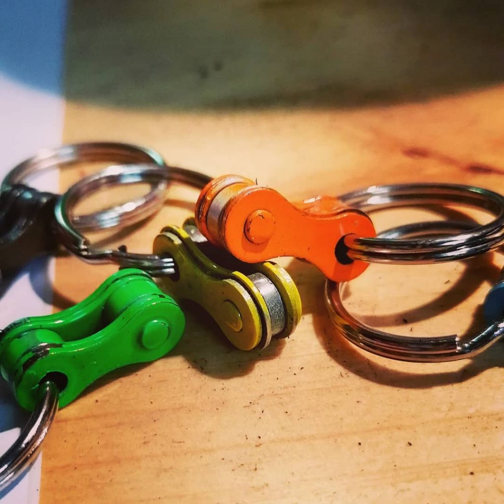 Bicycle keyholders