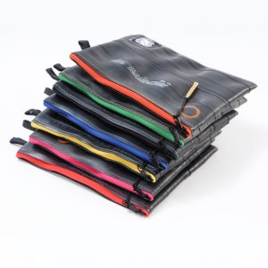 Recycled Pouches from BikeTube